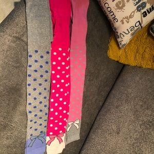 Other - girls leggings tights nwot size 6-8
